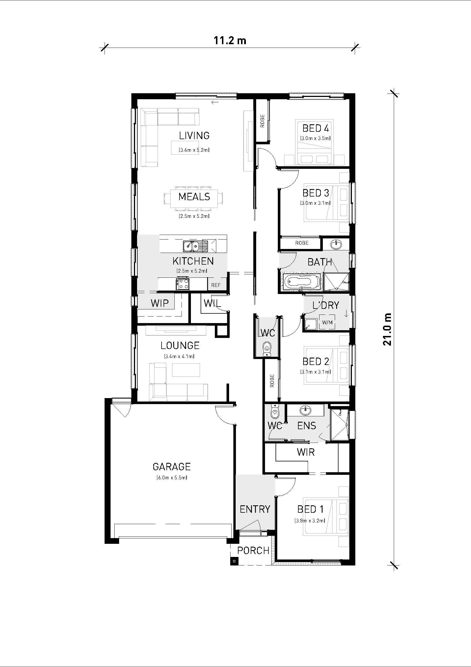 Thornhill 212 Floorplan