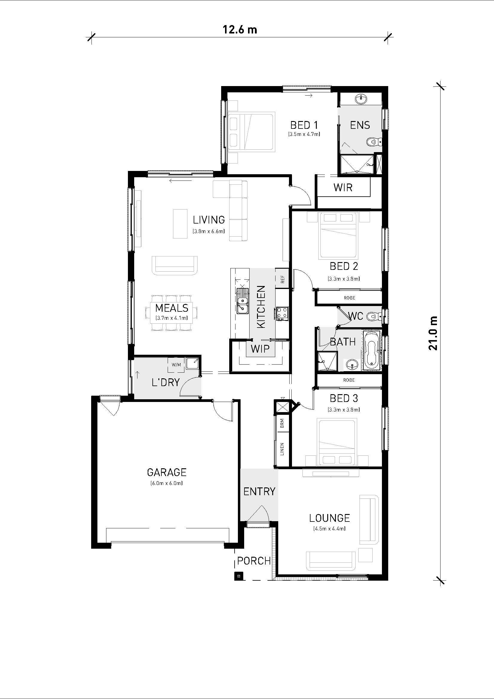 Riverside 221 Floorplan